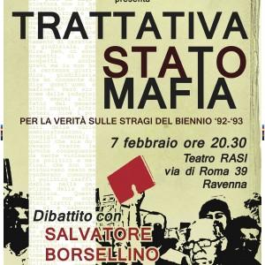 Borsellino 7 febbraio stampa 70x100