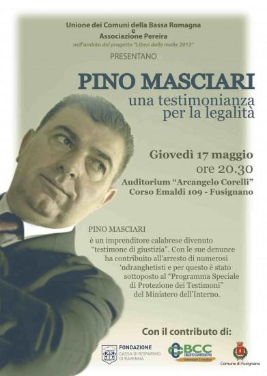 Pino Masciari: una testimonianza per la legalità