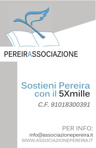 SOSTIENI PEREIRA COL TUO 5×1000