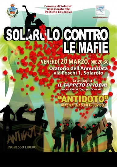 SOLAROLO CONTRO LE MAFIE 2015